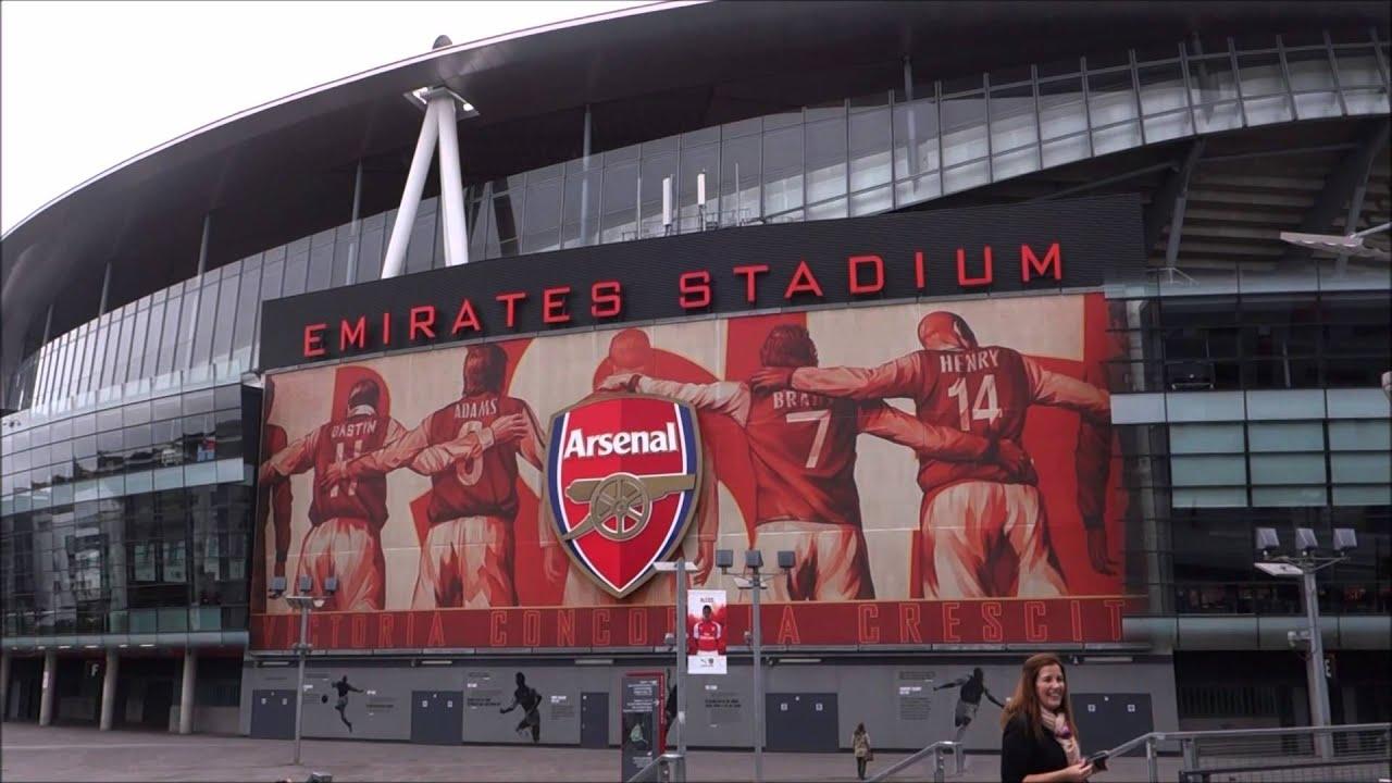 Wallpaper Arsenal Hd Emirates Stadium Arsenal London From The Outside Youtube