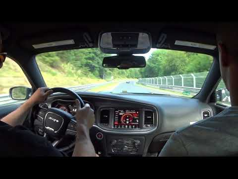 How to drive the Nurburgring in a Charger Hellcat!