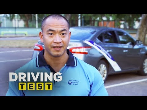 'The young lady pulled my bikini top down' | Driving Test Australia