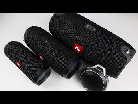 My Favorite JBL's Bluetooth Speaker Lineup