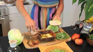How To Make A Healthy Harvest Sandwich With Organic Avenue!