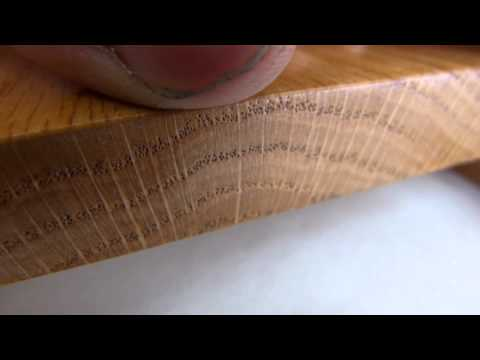 Identify Red Oak wood (Quercus sp.)