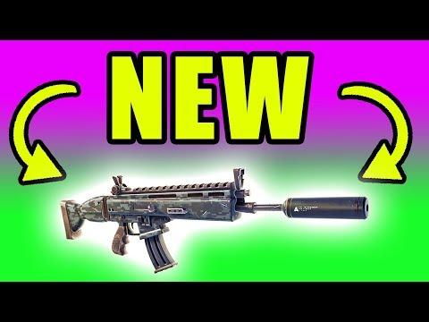 NEW Silenced Assault Rifle! Drum Gun Gone! ⚠️ Fortnite Battle Royale Live Gameplay