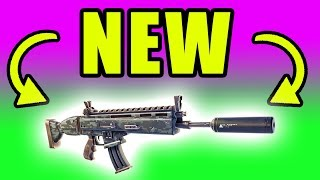 NEW Silenced Assault Rifle! Drum Gun Gone! ⚠️ Fortnite Battle Royale Live Gameplay