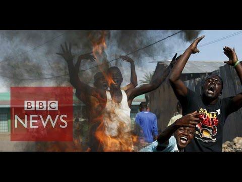 """Burundi Crisis: """"Do you hear the gunshots?"""" - BBC News"""
