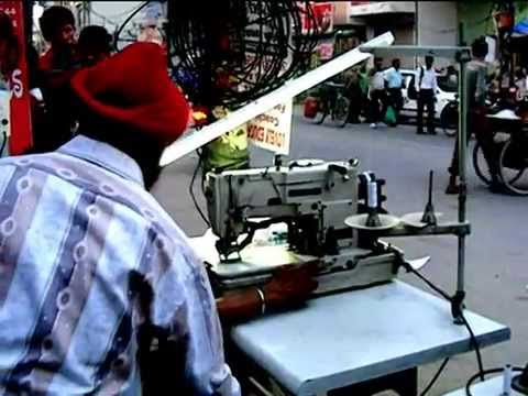 Solar operated / Battery operated / DC MOTOR operated Industrial sewing machines - By J S Pasricha