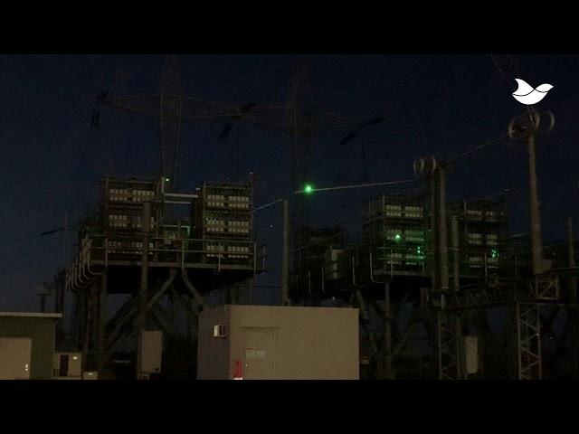 Laser Bird Deterrent Ensures Safety at The Electrical Substations