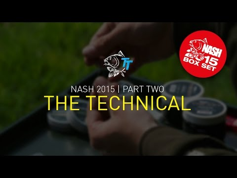 Nash 2015 DVD BOX SET PART 2, Film 3 THE TECHNICAL  SUBTITLES Carp Fishing Tackle and Rigs