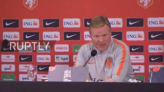 Germany: Dutch national team optimistic ahead of Germany match