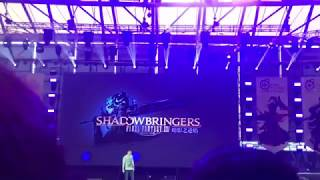 FFXIV Shadowbringers Job Actions LIVE REACTION at Shanghai Fanfes