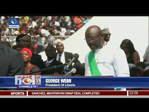 Download Youtube: Liberia Inauguration: George Weah Sworn-In As President