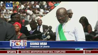 Liberia Inauguration: George Weah Sworn-In As President