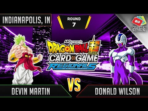 Dragon Ball Super Card Game Gameplay [DBS TCG] Indianapolis Regional Round 7