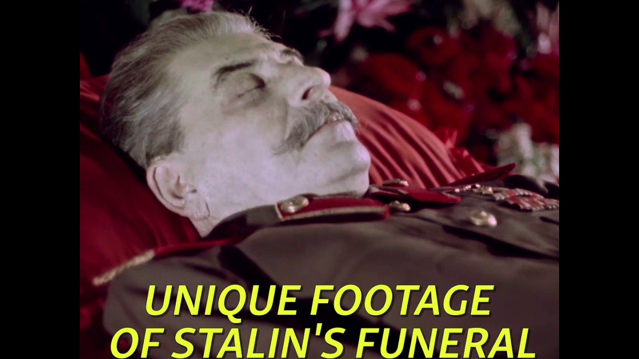 Download The Death Of Stalin: Unique Propaganda Footage Shows Dictator's Funeral