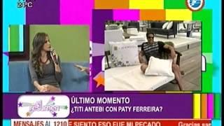 ¿Patty Ferreira y Titi Antebi de Novios? #ElResumen - 18-05-2015.