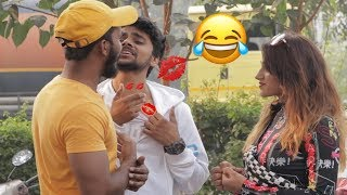 AJ Caught by GAY Ex BoyFriend FT. Corrupt Tuber | Delhi Prank | Bantai It