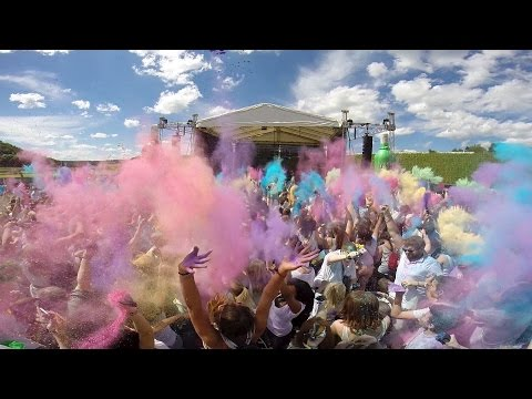 HOLI FESTIVAL OF COLORS ZÜRICH 2014 - UNOFFICIAL AFTERMOVIE