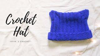 [Crochet a hat] Hướng dẫn móc mũ len tai mèo cute