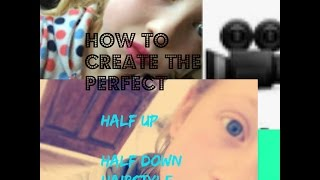 Hoe maak je de perfecte helft tot ha,f omlaag kapsel