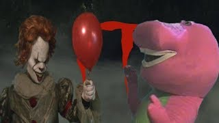 IT - Pennywise The Dancing Clown Vs Barney The Dinosaur 2