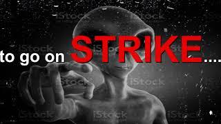 im going on strike