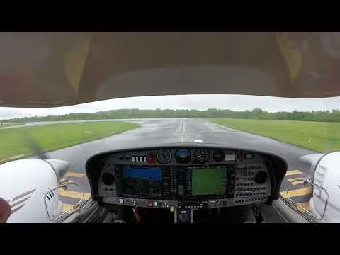 Short IFR flight with approach in IMC down to minimums
