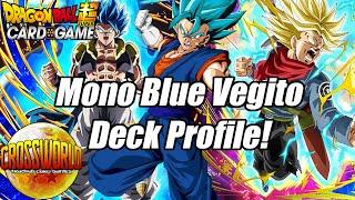 Mono Blue Vegito Deck Profile! - Dragon Ball Super Card Game