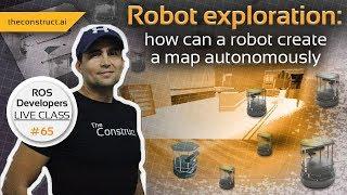 ROS-Entwickler LEBEN-Klasse #65: [Robot Exploration] Wie Kann ein Roboter eine Karte zu Erstellen Selbstständig
