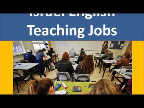 Israel English Teaching Jobs
