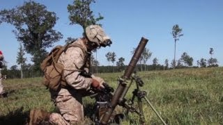 USMC Combined Arms Assault with 60mm Mortars