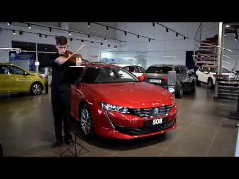 Adrian Morales y el 508 en AMI Peugeot...virtuosismo algecireño