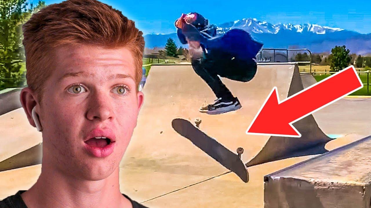 FASTEST Skateboarding Progression Yet! Reaction