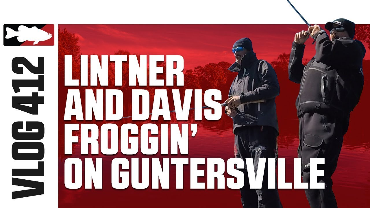 Jared Lintner and Alex Davis Froggin' on Guntersville Pt. 4 - Tackle Warehouse VLOG #412