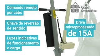 Gambar cover GUINCHO  FREEDOM TRANSFER COM BALANÇA 180 KG - CASA ORTOPEDICA