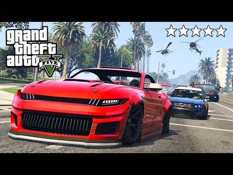 COPS AND ROBBERS w/ MY GIRLFRIEND!! (GTA 5 Online)