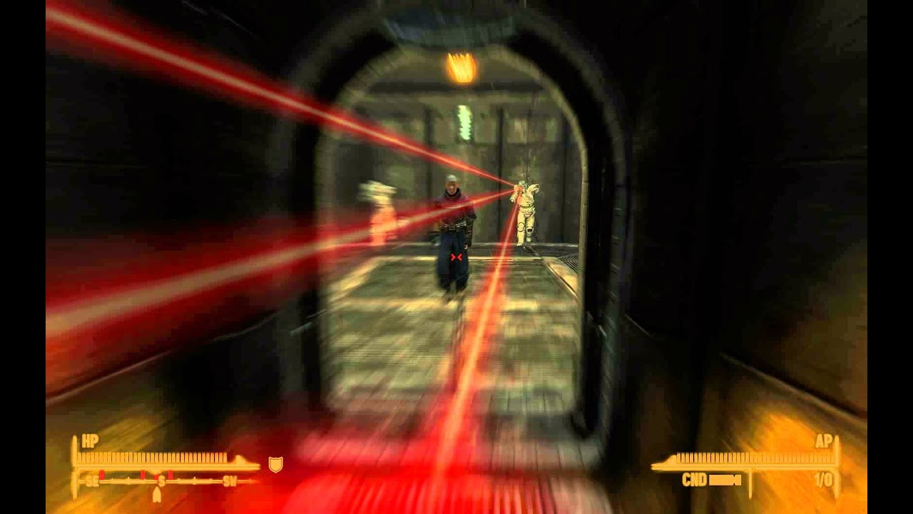 Fallout New Vegas Brotherood Of Steel Quest Glitch Youtube