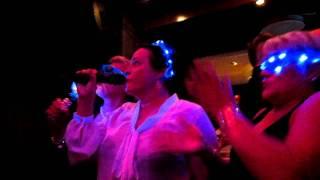Grandmothers singing Karaoke, Botta, Manala, 25.11.2011
