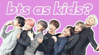 BTS as kids (VINES)