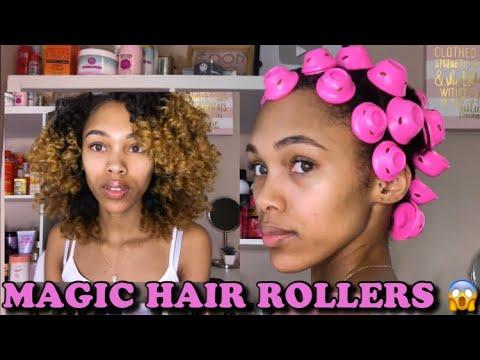 MAGIC HAIR ROLLERS | NEVER USE A PERM ROD AGAIN!!!