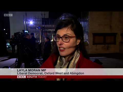 Layla Moran MP reacts to the defeat of Theresa May's Brexit deal