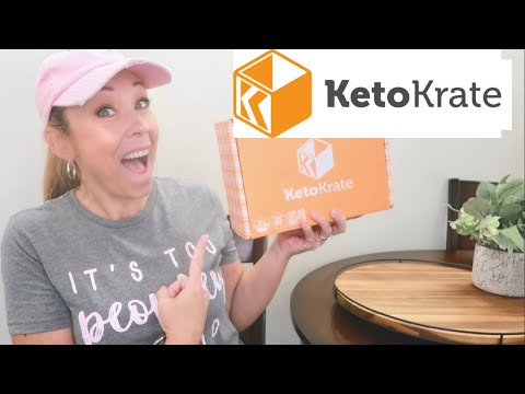 KETO KRATE UNBOXING // JULY 2020 // AMAZING WAY TO DISCOVER LOW CARB & KETO FRIENDLY SNACKS