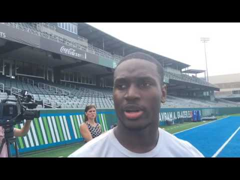 Tulane RB Dontrell Hilliard on his teammates' support after last week's loss to Memphis