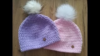 👒 Czapka na szydełku każdy rozmiar 10k - Crochet hat, all sizes