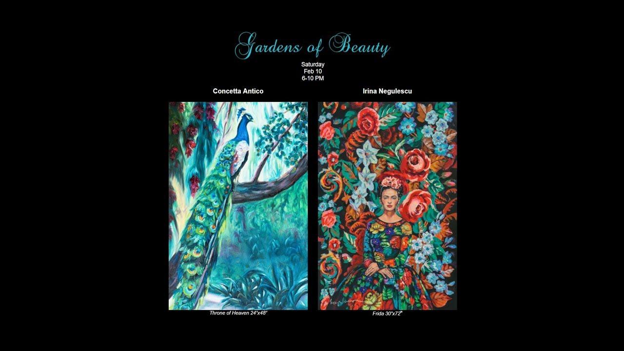Concetta Antico Gardens of Beauty Art Show