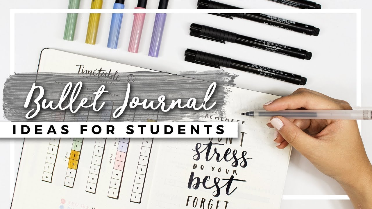 Bullet Journal Ideas For Students Back To School Planning Youtube