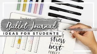 Bullet Journal Ideas for Students! BACK TO SCHOOL Planning!