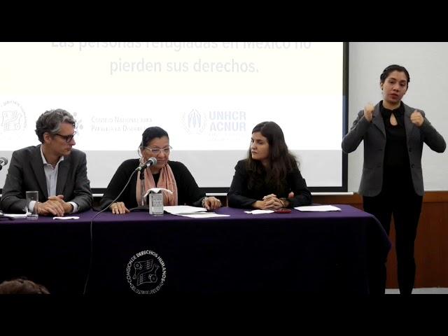 Discurso de la Presidenta de la #CDHCM, Nashieli Ramírez, en 11º Concurso de dibujo