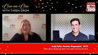 Andy Pyfer, Fingerpaint – 2020 PharmaVOICE 100 Celebration