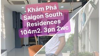 SAIGON SOUTH RESIDENCE, 104M2, 3PN, 2WC, BÁN VÀ CHO THUÊ    NGUYỄN LUÂN CHANNEL