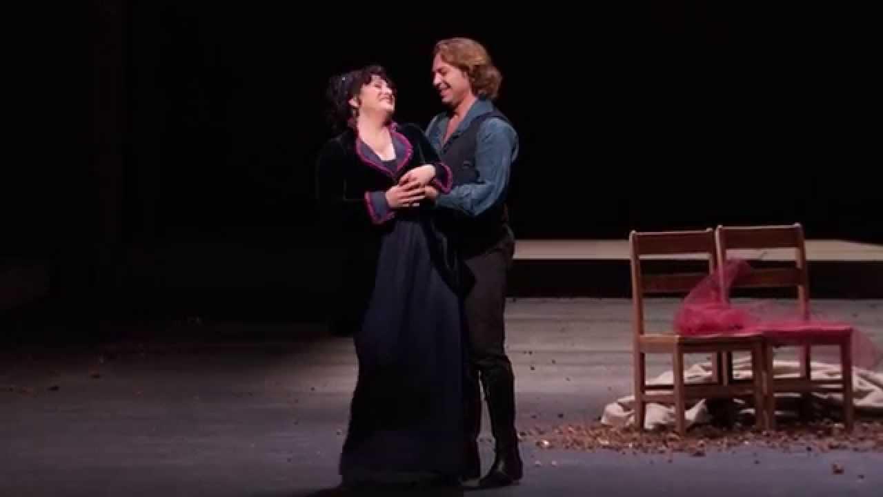 """Tosca: """"Mia gelosa!"""" (Roberto Alagna, Patricia Racette)"""